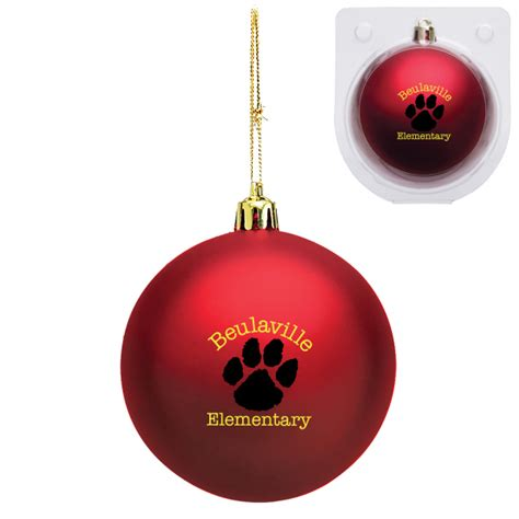 custom shatter resistant ornament usimprints