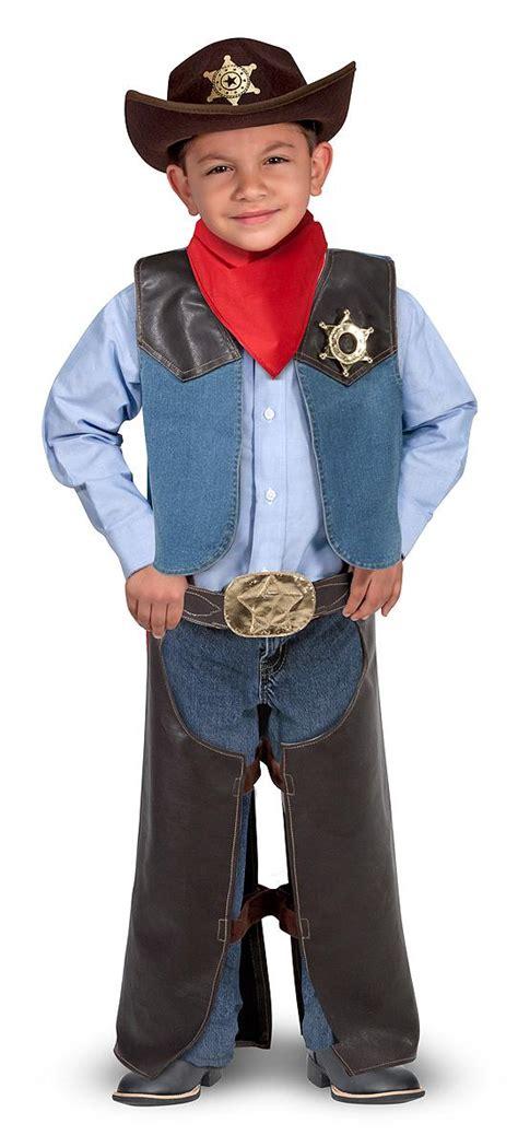 Wst 5903 2 Pcs Dress doug cowboy play costume set 5