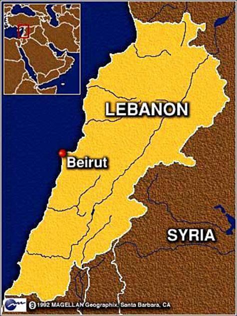 beirut on world map cnn israel shoots lebanese civilian plane may