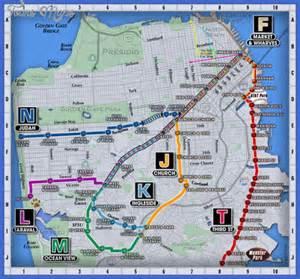 San Francisco Subway Map by San Francisco Metro Map Map Travel Holiday Vacations