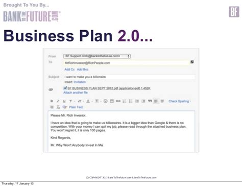 business plan template for investors business plans 3 0