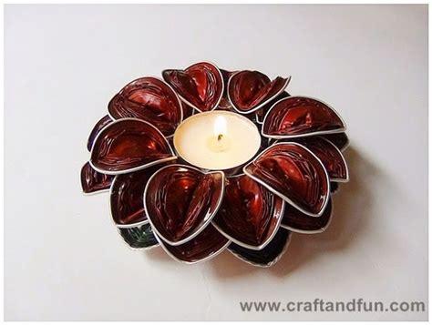 costruire candele come realizzare un portacandele fai da te con le capsules