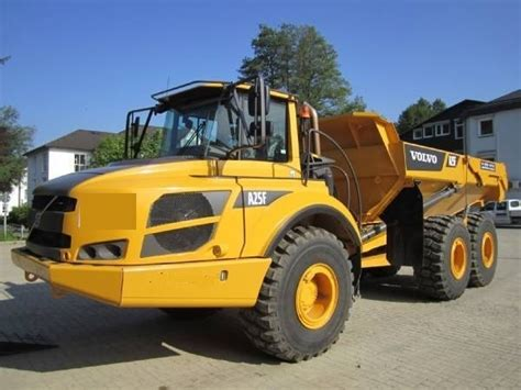 volvo rigid trucks volvo a 25f rigid dumper rock truck from for sale