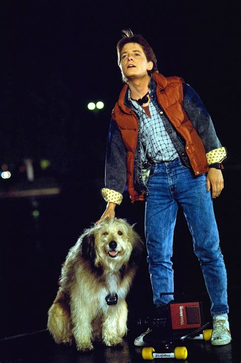 amazoncom back to the future michael j fox new year old look style inspiration from marty mcfly