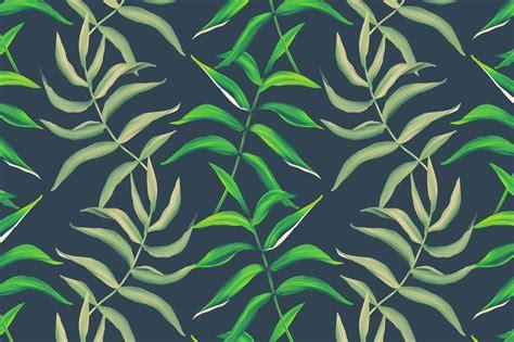 leaf pattern tumblr palm leaves seamless pattern patterns on creative market