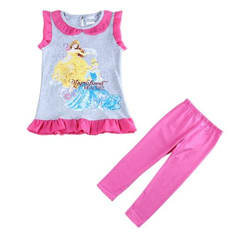 aliexpress girl clothes girls clothing sets print princess girls sets outfits baby