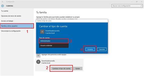 quitar imagenes cuenta windows 10 como convertir una cuenta de usuario est 225 ndar en