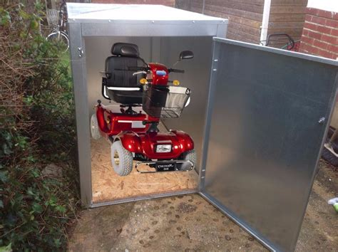 new mobility scooter shed storage box 1 2mm galvanised