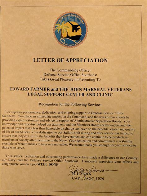 navy award letter of appreciation letter of appreciation navy award points 28 images