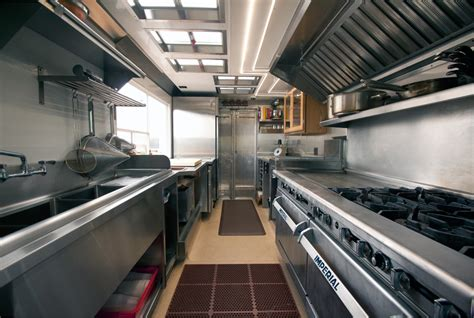 interior design for food truck food truck kitchen outfit food trucker pinterest
