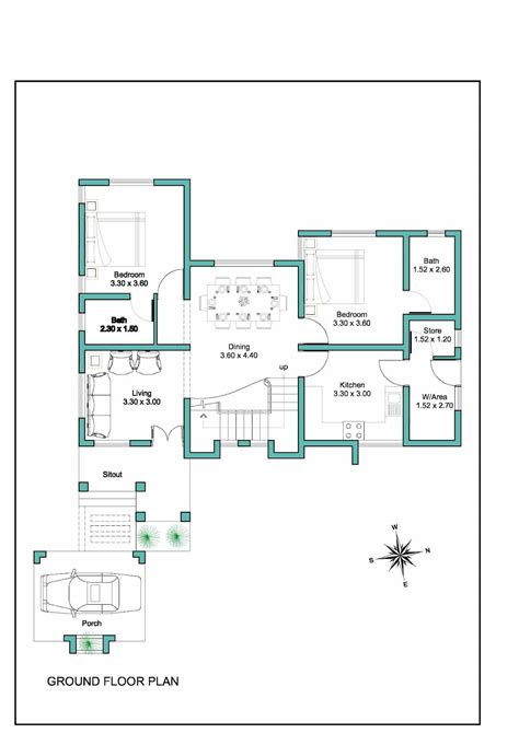 kerala home design with free floor plan contemporary kerala house plan at 2000 sq ft