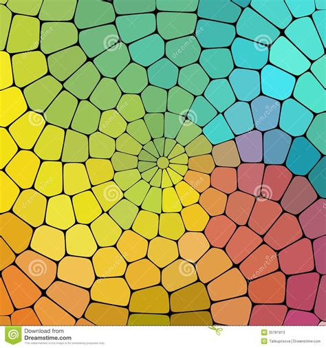 magic pattern background color magic pattern of geometric shapes stock