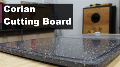 corian board creating a corian cutting board with a juice groove