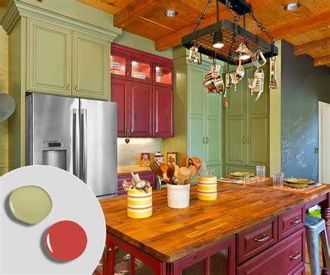 kitchen cabinet color combos that really cook this old 2 barn red sage green 12 kitchen cabinet color combos