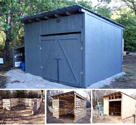 garden shed made out of pallets diy garden
