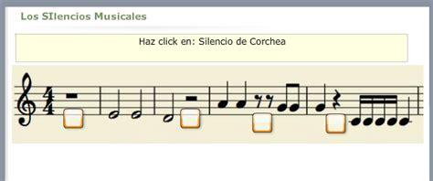 imagenes silencios musicales notas figuras y silencios musicales 5 actividades