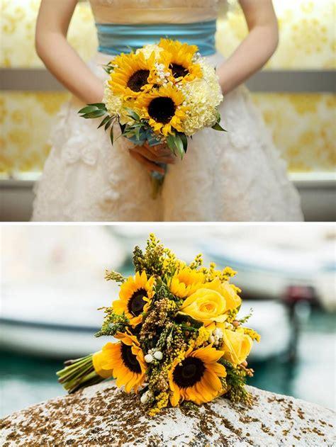 mazzo fiori sposa bouquet da sposa girasoli