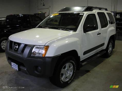 2007 avalanche white nissan xterra s 4x4 8196711 gtcarlot car color galleries