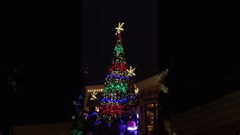 the shops at wiregrass christmas light show 2012 youtube