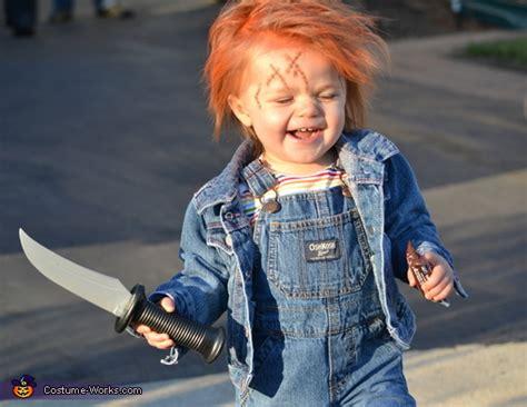 chucky doll diy baby costume
