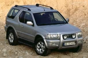Opel Frontera Opel Frontera Sport Specs 1998 1999 2000 2001 2002