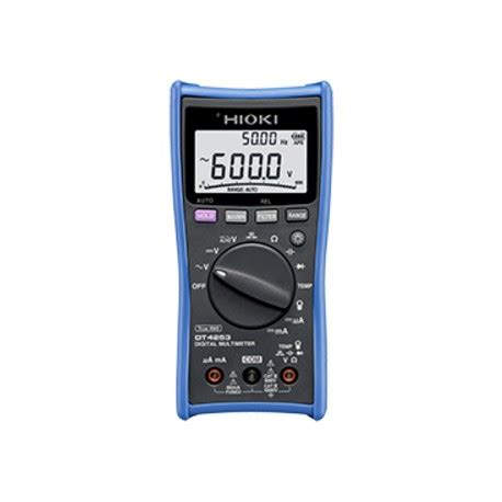 Multimeter Digital Hioki digital multimeter hioki dt4253 price hioki
