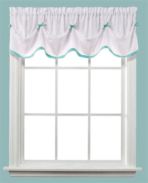 Turquoise Valances For Windows Inspiration Saturday Turquoise Tuck Valance Window Valances