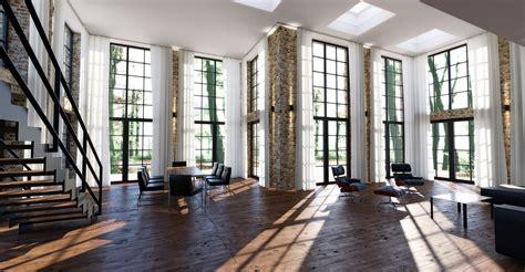 industrial loft industrial loft interior indigo renderer