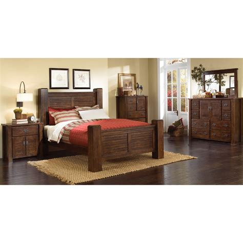 King Bedroom Furniture Set by Trestlewood 6 Cal King Bedroom Set
