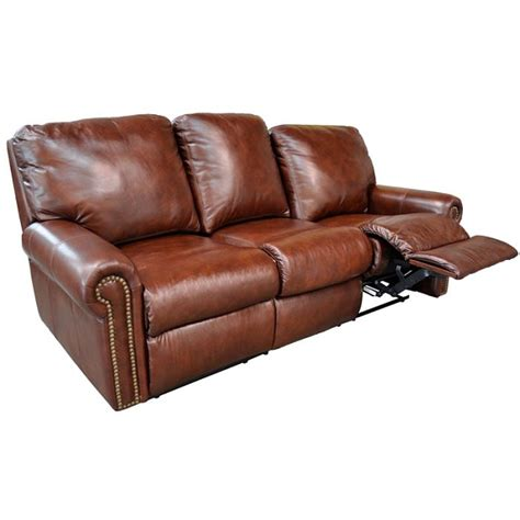 omnia leather sofa fairmont reclining sofa by omnia leather chaise footrests