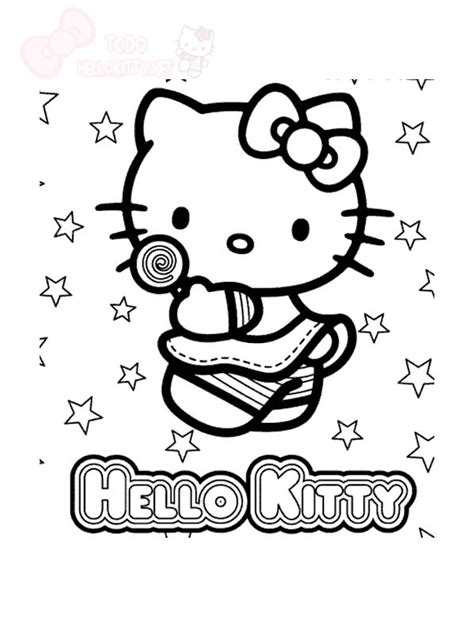 imagenes de la kitty para colorear kitty todo hello kitty page 5