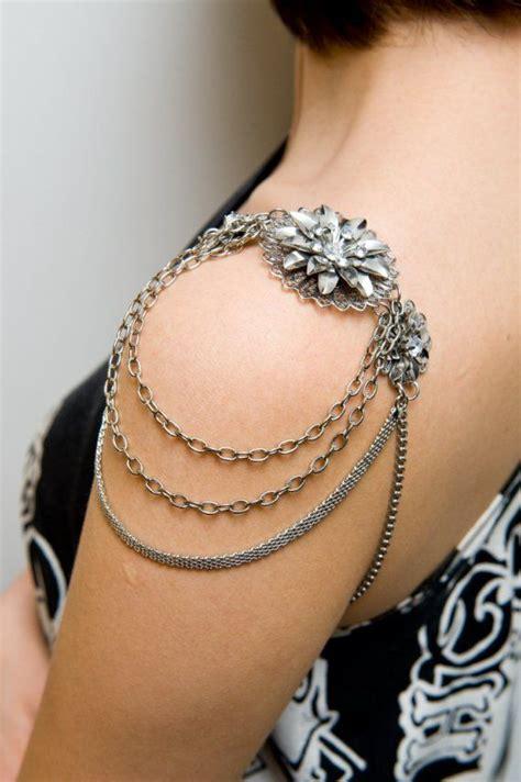 lotus tattoo jewelry lotus shoulder jewelry shoulder piece armor jewelry
