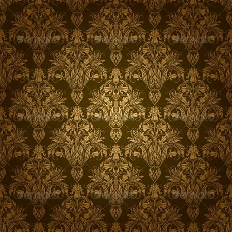 seamless pattern royal damask seamless floral pattern by julijamilaja graphicriver