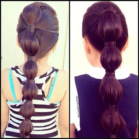 bubble haircut bubble ponytails hairstyles and beauty tips beauty