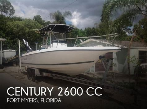 fishing boats for sale fort myers florida sold century 2600 cc boat in fort myers fl 107723