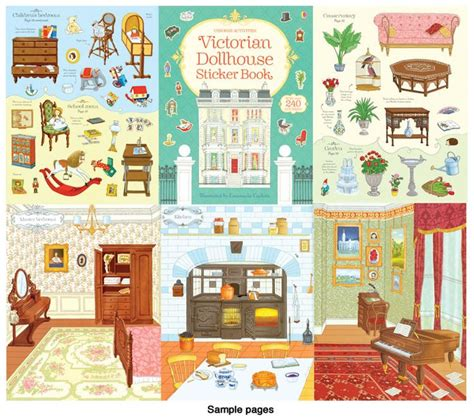 doll house stickers 1000 images about h 228 uschen on pinterest