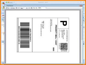 Usps Label Template by 6 Usps Shipping Label Template Introduction Letter