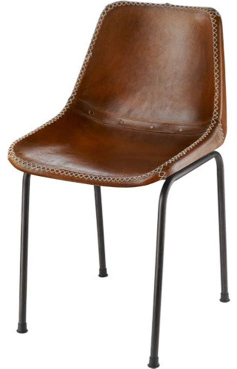 leather schoolhouse chair modern dining chairs by