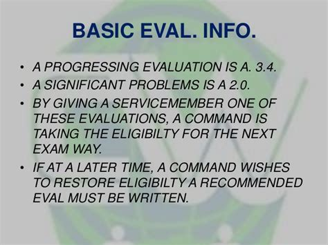 Navy Evaluation Late Letter Navy Careerwise Powerpointer 2 Advancement Education