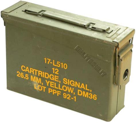 cassette militari cassetta in metallo portamunizioni equipaggiamento