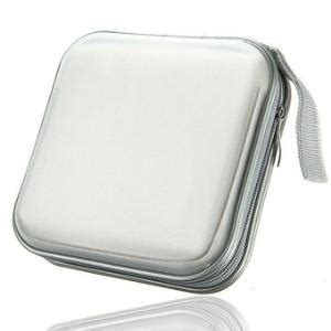 Beli 1 Dapat 2 Touch Wallet Dompet Organizer Dompet Handphone 40 stitched cd dvd sleeve with business card pocket white