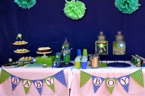 Blue And Green Themed Baby Shower by 99 Best Blue And Green Babyshower Images On