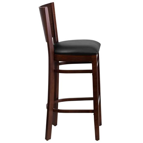 restaurant quality bar stools wood back barstool