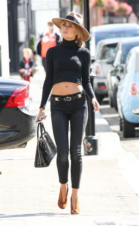 kimberley garner casual style   london september