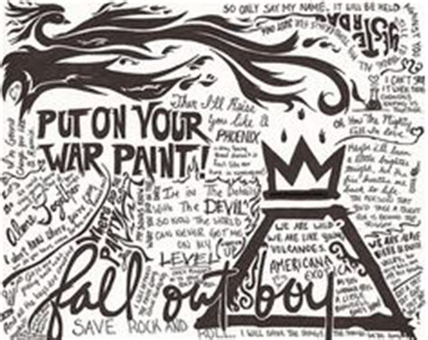 coloring book album lyrics 1000 images about fall out boy on fall out