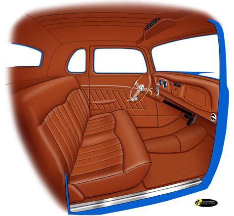 hot rod upholstery kits pin custom chevy interiors on pinterest