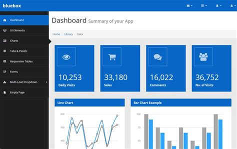 100 Best Free Bootstrap Admin Templates 187 Css Author Bootstrap Admin Panel Template Free