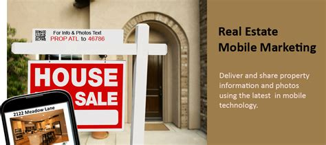 mobile marketing real estate mobile marketing for real estate agents brokers mobile