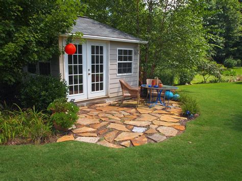 Patio Shed by Residential Landscape Design Information And Tips For