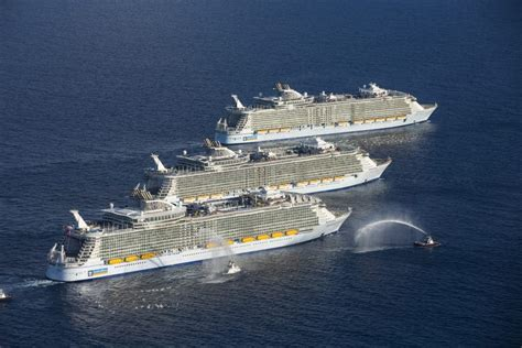 biggest cruise ship royal caribbean is building the latest world s largest